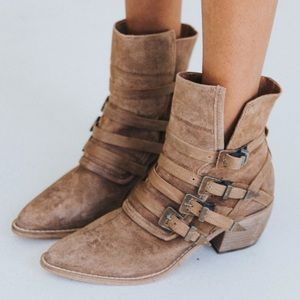 Free People •Mason Western Booties